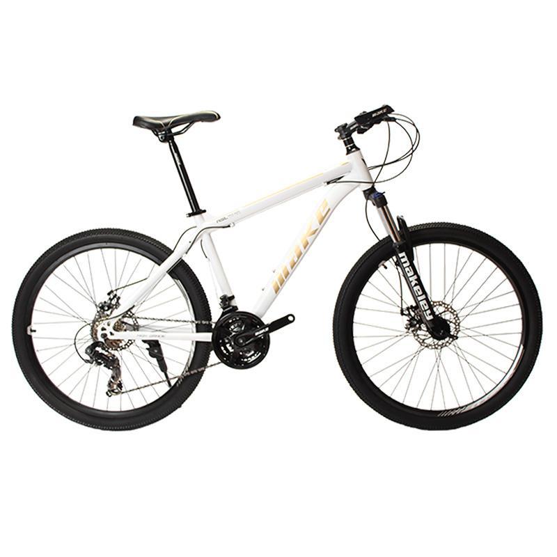 Make Mountain Bike Steel Frame 24 Speed Shimano 26 Wheel Mechanical ...