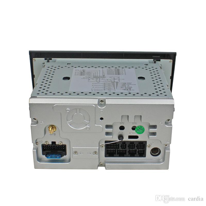 Reproductor de DVD del coche para Audi A4 4GB Ram Octa-core 7Inch Andriod 8.0 con GPS, control del volante, Bluetooth, radio