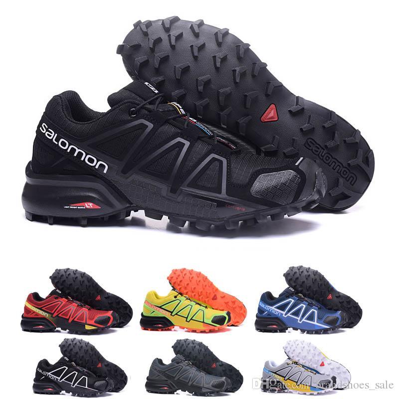 Großhandel Salomon Speed Cross 4 Designer Shoes Speed Cross 3 CS III Outdoor Herren Camo Rot Schwarz Sport Laufschuhe Herren Speed Crosspeed 3