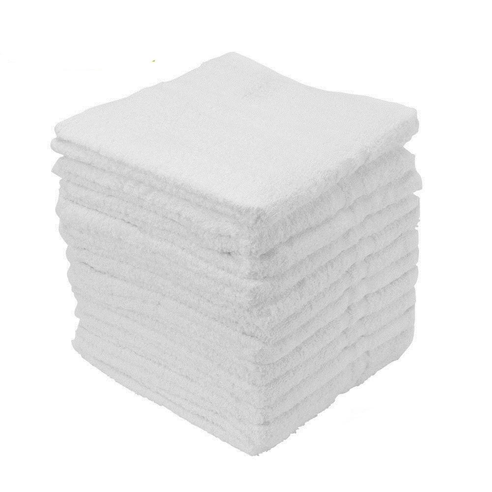12 COTTON TERRY CLOTH CLEANING BAR TOWELS SHOP RAGS 12X12 100% COTTON  HGTowel Extra Large Bath Towels Lime Green Towels From Meiqianxuen d443d88c8