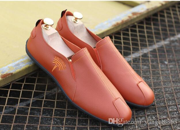 One-legged Foot Casual Shoes Men New Varieties Are Introduced One After Another Shoes