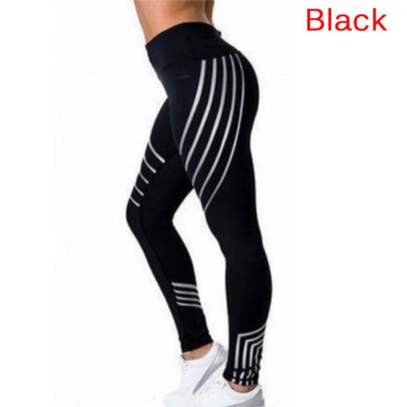 4dc3218e95730 2019 Fitness Legging Ladies Sports Trousers Glowing Tights Sports Wear  Women Summer Noctilucent Bodybuilding Yuga Leggins From Yiquanwater