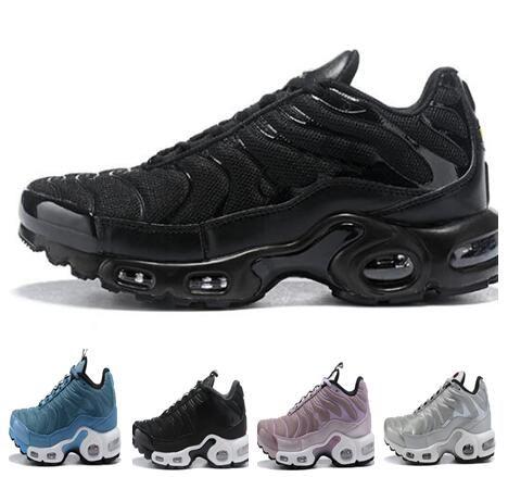 a360e73455818 2019 2018 New Men Women Tn Plus Mens Designer Shoes Vm Olive In Metallic  Running Shoes