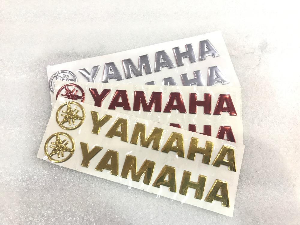 Motorrad Auto Hochwertige 3d 3m Aufkleber Fit Für Yamaha Logo Yzf R1 R1m Yzf R6 V Max Mt 07 Fz 07 Fj 09 Mt 09 Tracer Mt 01