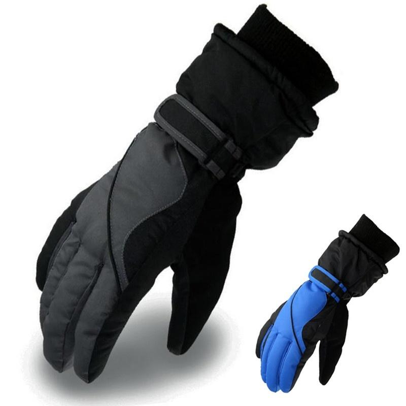 72b222273 Winter Outdoor Waterproof Ski Gloves Men Women Warm Skiing Snowboard Gloves  Snowmobile Motorcycle Riding Cycling Snow Mittens