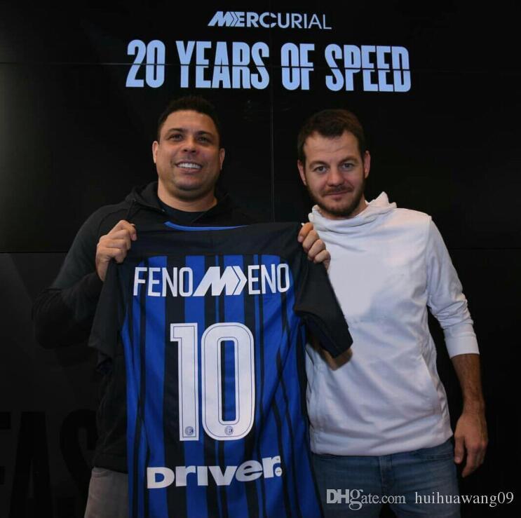 2019 2018 Inter Fenomeno Jersey  10 Ronaldo Inter Soccer Jersey ICARDI  PERISIC EVER BANEGA AMBROSIO EDER Football Shirts Maglie Di Calcio Jersey  From ... 5100ac000