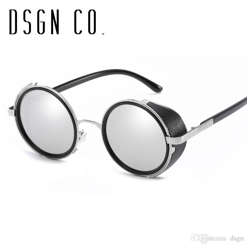 DSGN CO. 2018 Celebrity Steampunk Sunglasses For Men And Women ... d24d2bfec0