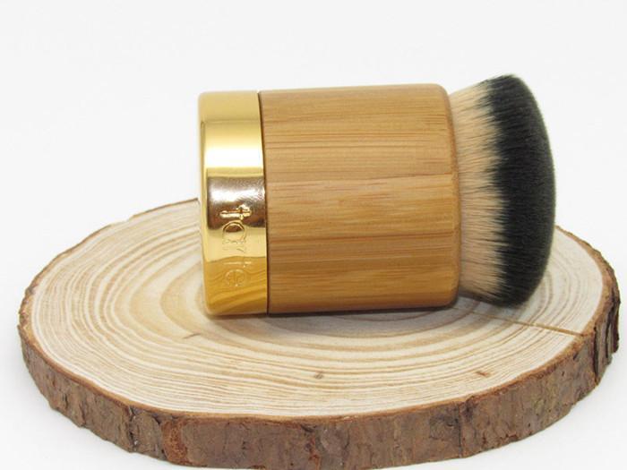 / 핫 도매업 100 % 신작 airbuki 대나무 파우더 파운데이션 브러쉬 액체 파운데이션 크림 메이크업 브러쉬 합성 머리 무료 배송