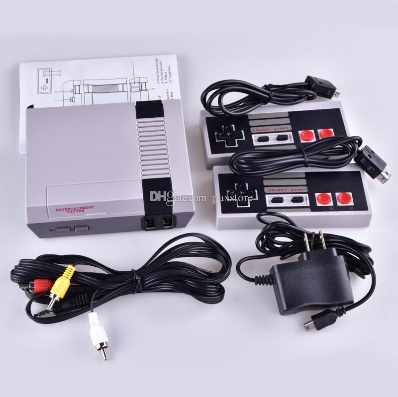 En iyi Mini TV Mağaza Olabilir 620 500 Oyun Konsolu Video El Perakende Kutusu ile NES Oyunları Konsolları için Ücretsiz nakliye