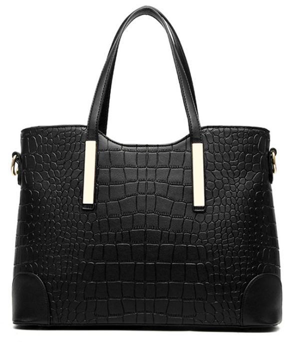 2018 yeni buzlu omuz çantası çanta moda kadın timsah resim paketi taşınabilir Xiekua paketi