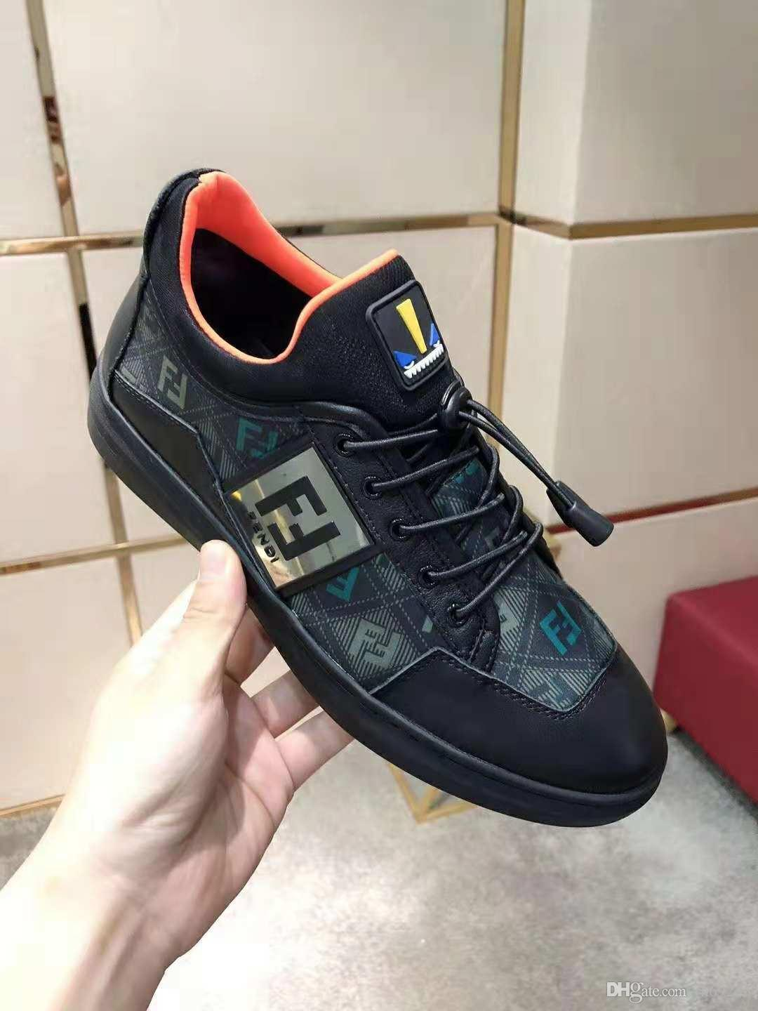2ef62cb9004 Black Casual Shoes Lace Up Designer Comfort Pretty Girl Men Sneakers Casual  Leather Shoes Men Womens Sneakers Extremely Durable Stability Online with  ...