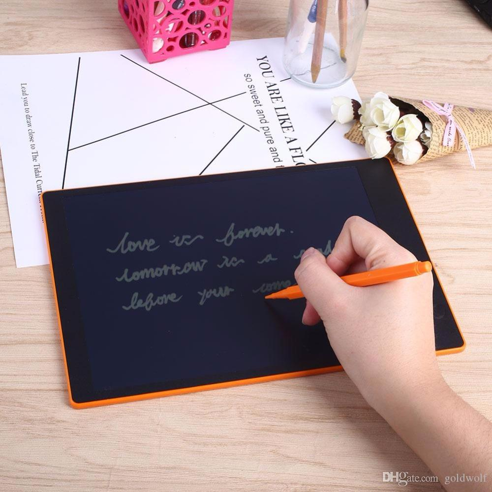 10.1 inch Flexible LCD FLCD Writing Pad Tablet Drawing Board Blackboard Handwriting Pads Gift for Kids Paperless Notepad Memo With pen