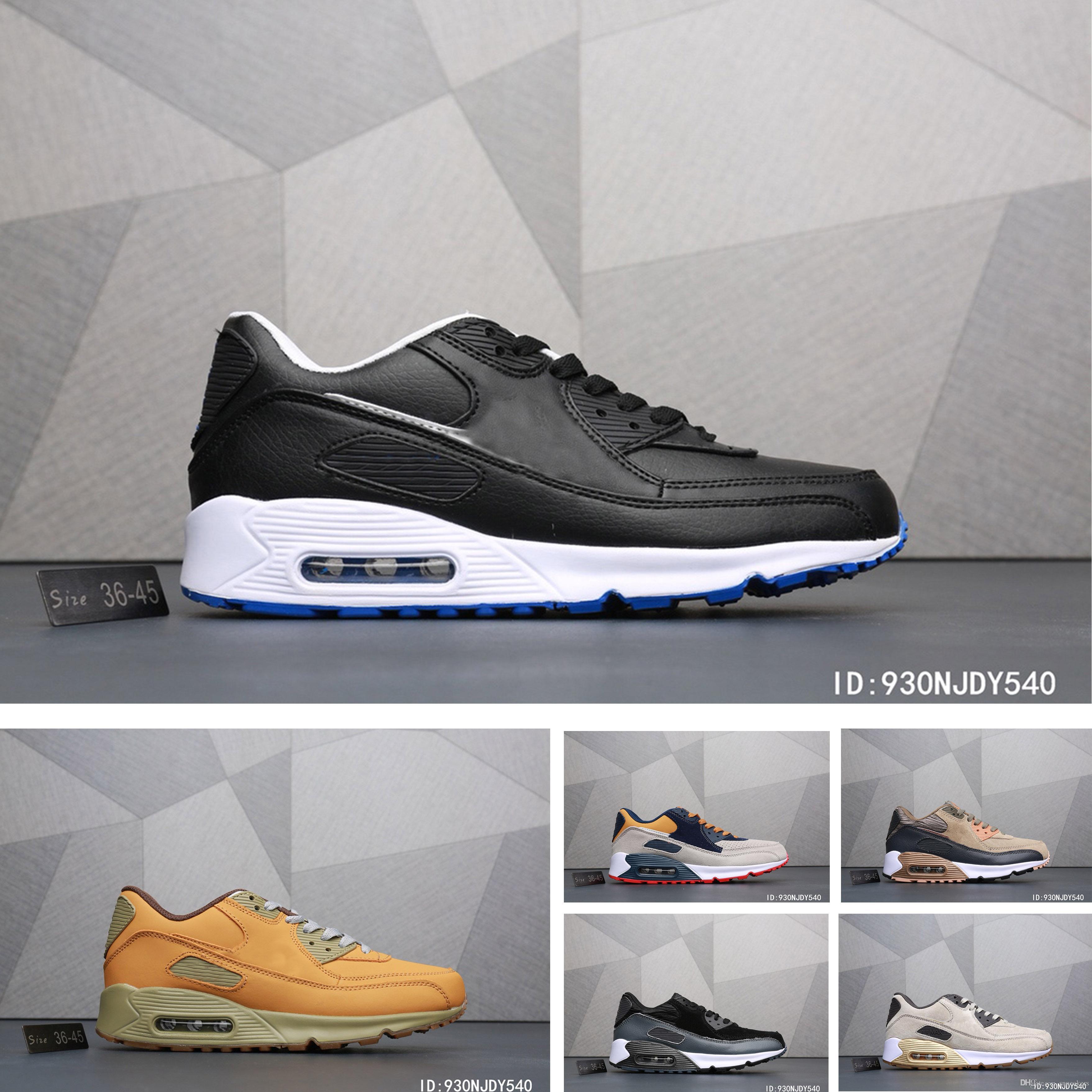 ede07f61ee82bc Acheter Nike Air Max 90 Ultra Designer Shoes Nouvelle Arrivée De Marque De  Luxe Ice Max 90 Chaussures De Sport Pour La Marque Femme Chaussures Homme  Baskets ...