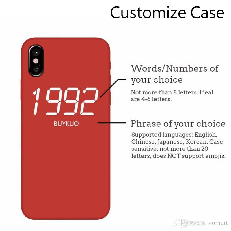 personalised iphone xs case
