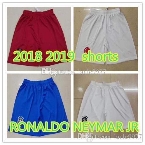 a62e696785d 2019 2018 Turkey Soccer SHORTS 10 ARDA 8 INAN 9 TOSUN 16 TUFAN 15 TOPA 18  ERKIN Brazil Shorts Neymar JR Ronaldo Football Pants Shorts From Laule9977,  ...