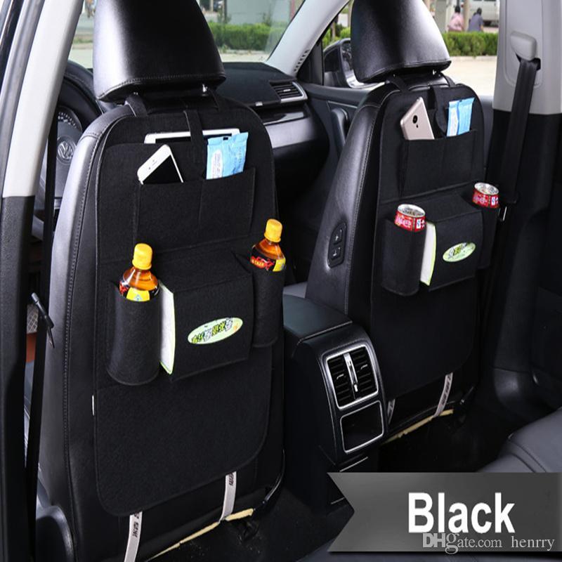 Truck Seat Organizer >> Car Storage Bag Back Seat Organizer Hanging Bag Chair Back Pocket