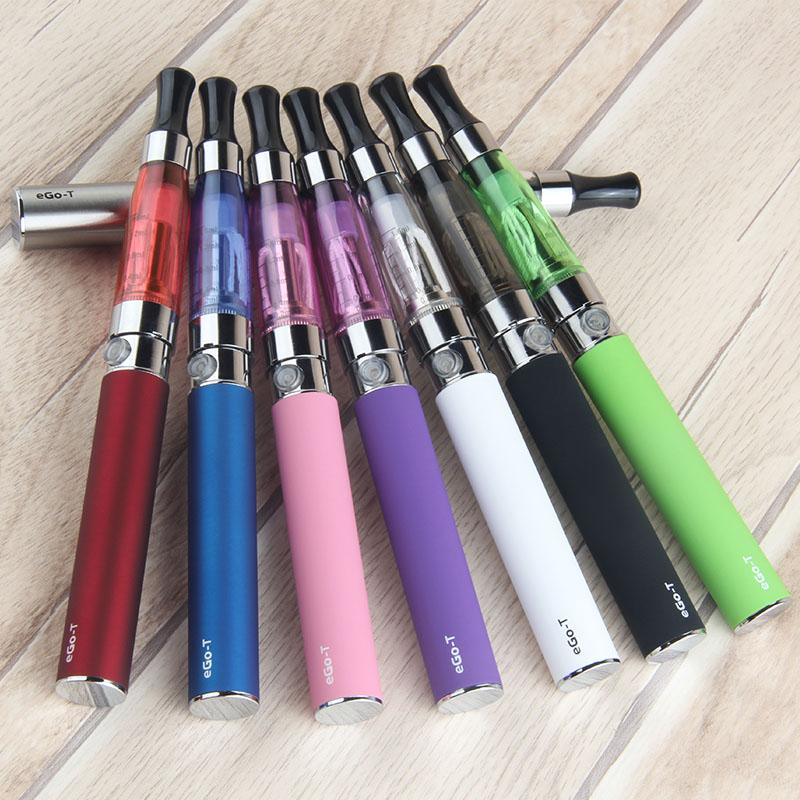 Double ego-t battery ce4 atomizer kit starter Zipper bag ego t 510 battery 650/900/1100mah vape pen vaporizer