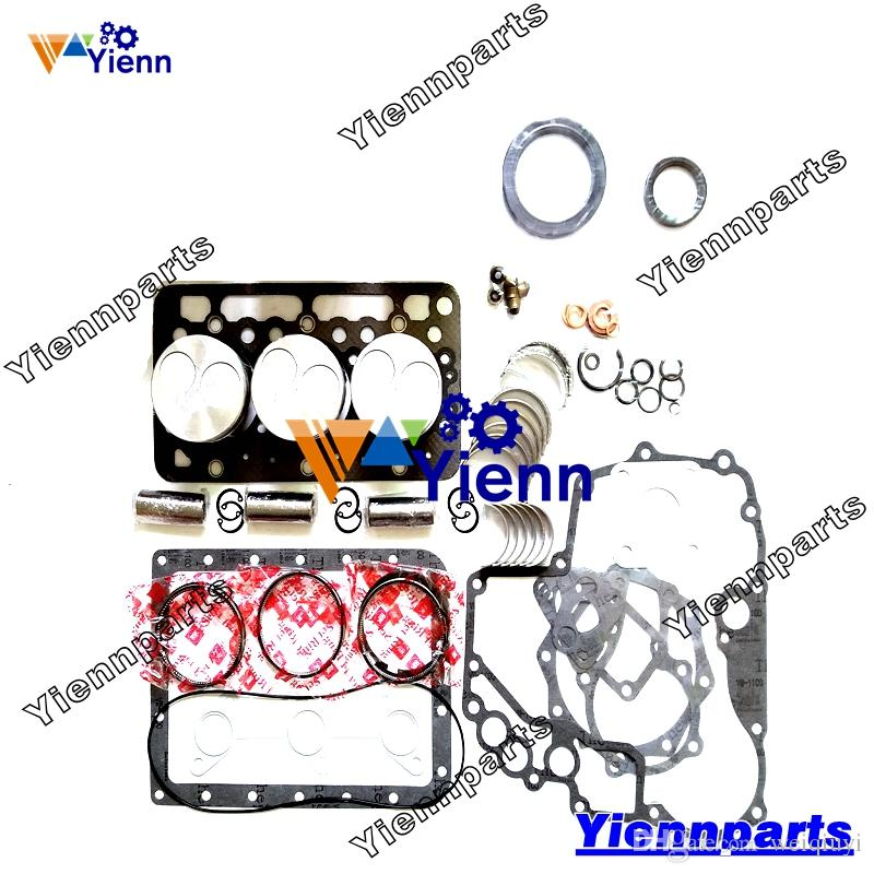 D950 D950-FM D950-5B Overhaul Rebuild Kit for Kubota engine B7200D B7200E  B7200HST-D B7200HST-E B8200D tractor piston ring bearing gasket