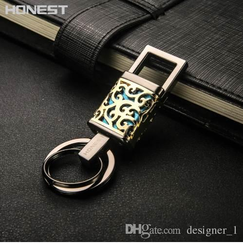 brand honest high grade alloy keychains men key chain car key holderbrand honest high grade alloy keychains men key chain car key holder ring jewelry bag pendant gift chinese style metal hollow make your own keychain kingdom