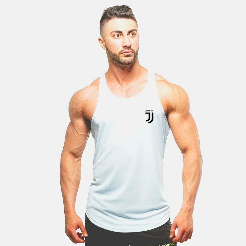 Compre Homens Bodybuilding Regatas Ginásio Camisa Sem Mangas De Fitness  2018 Novo Vestuário De Treino De Algodão Masculina Moda Camisola De Colete  ... 721837a332d