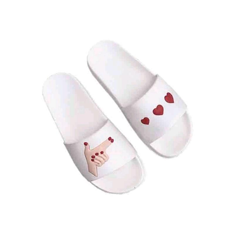 15fbdd6b8913 Summer New Style Women S Shoes Casual Cute Lovers Word Sandals Flip Flops  Beach Funny Love Peach Bathroom Home Floor SlippeRS Boots Online Cowboy  Boots For ...