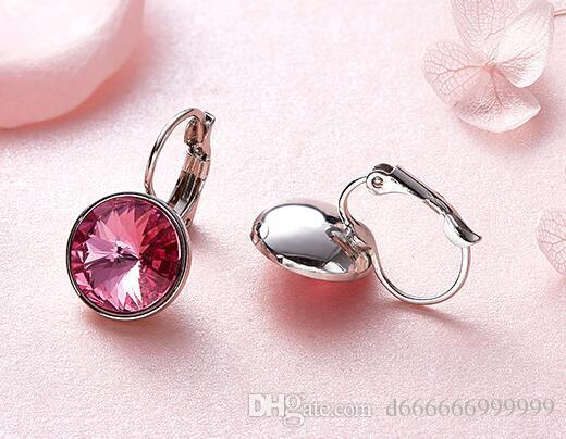 86c0ec6c3 2019 SWAROVSKI Crystal Earrings Fashion Ear Studs From D666666999999,  $20.41 | DHgate.Com