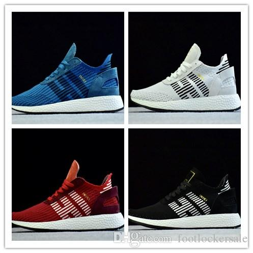 2018 Free Shipping Top quality Cheap New Iniki Runner Boost Black Grey Red Blue Shoes kids PRIDE THE running shoes for men Eur 36-45 with credit card IKDDz