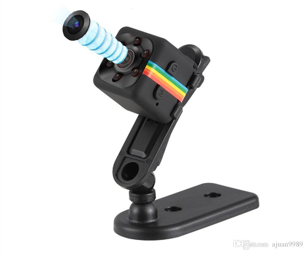 SQ11 HD 1080P Mini videocamera Night Vision Mini videocamera Sport Outdoor DV Videoregistratore Voice Action Camera mini cpy camera sq 11