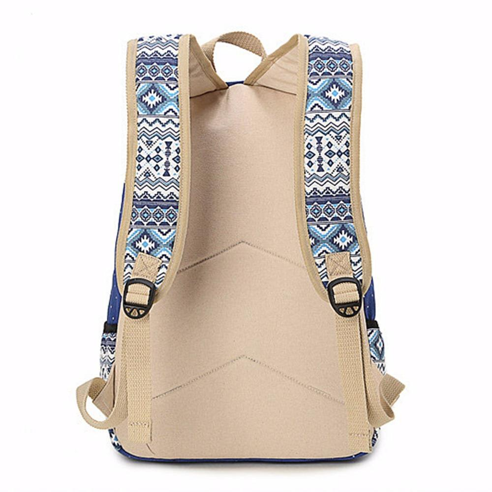 2b761680f5 Wholesale SUNBORLS Brand Canvas Printing Backpack Women Cute School Backpacks  For Teenage Girls Vintage Laptop Bag Rucksack Bagpack Female Toddler  Backpacks ...