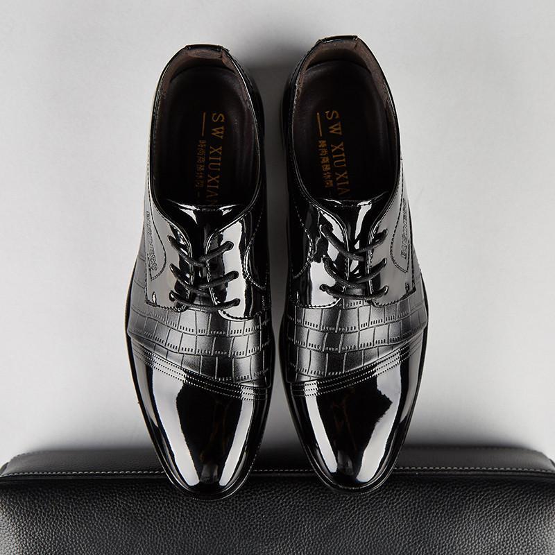 De Tamaño Compre Zapatos Charol Vestir Hombres 48 38 Boda 7HqwSg