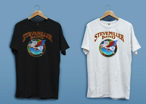 37d213123 New Steve Miller Band with Peter White Black Men's T-shirt Shirt XS - 2XL  Unisex More Size And Colors O-Neck Sunlight Men T-Shirt Camis