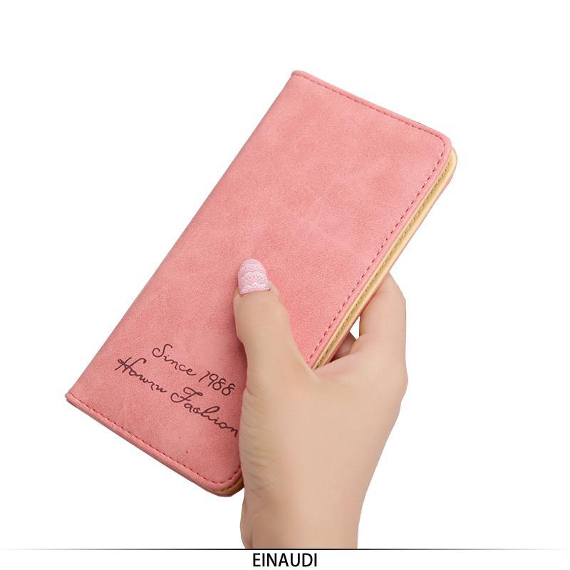 8b907ba5028e Women Wallet Ladies Retro Design Fashion PU Leather Long Purse Solid Hasp  Female Clutch New Style Hot Sale Card Holder Money New