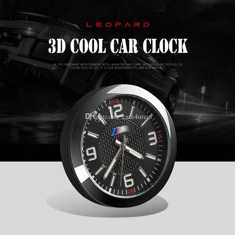 Acheter Horloge 3d Stereo Pour Bmw Sport Auto Haute Precision