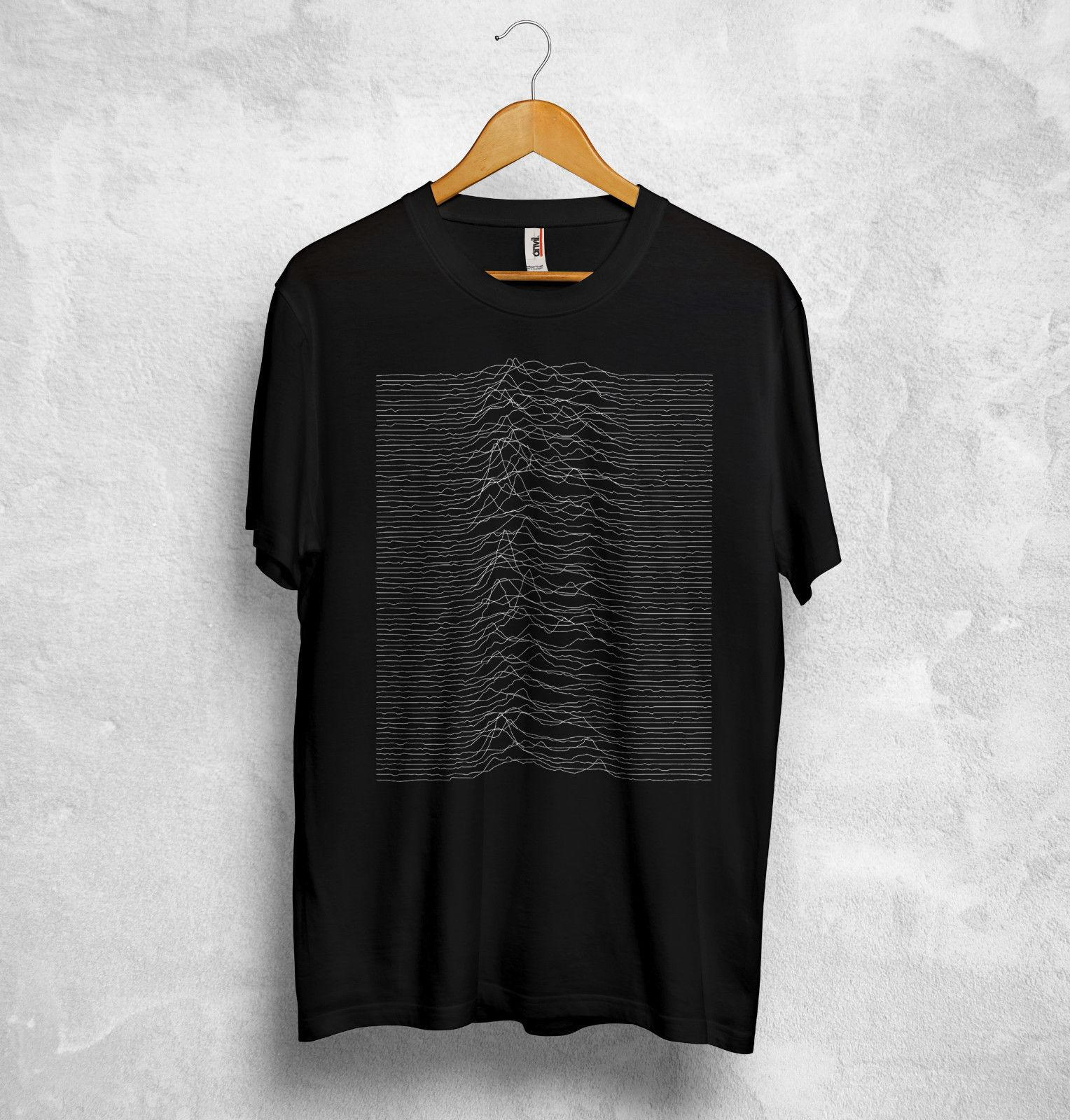 935ce6c0 Unknown Pleasures T Shirt Top Joy Division English Rock Transmission The  Cure New Fashion For Men T Shirt Sleeve Top Tee Best Deal On T Shirts That T  Shirt ...