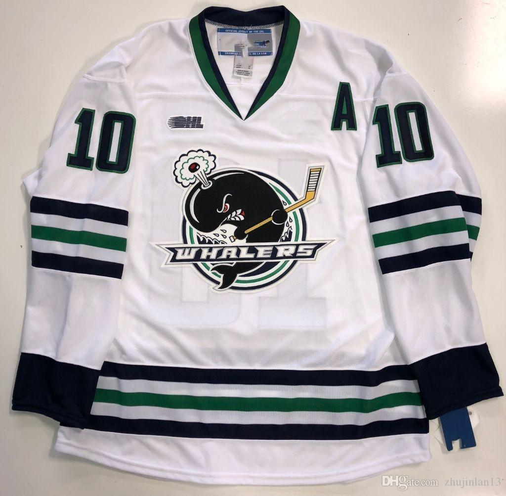 2019 PREMIER PLYMOUTH WHALERS  10 TOM WILSON Hockey Jersey Embroidery  Stitched Customize Any Number And Name Size Jerseys From Zhujinlan13 524c250b5d3