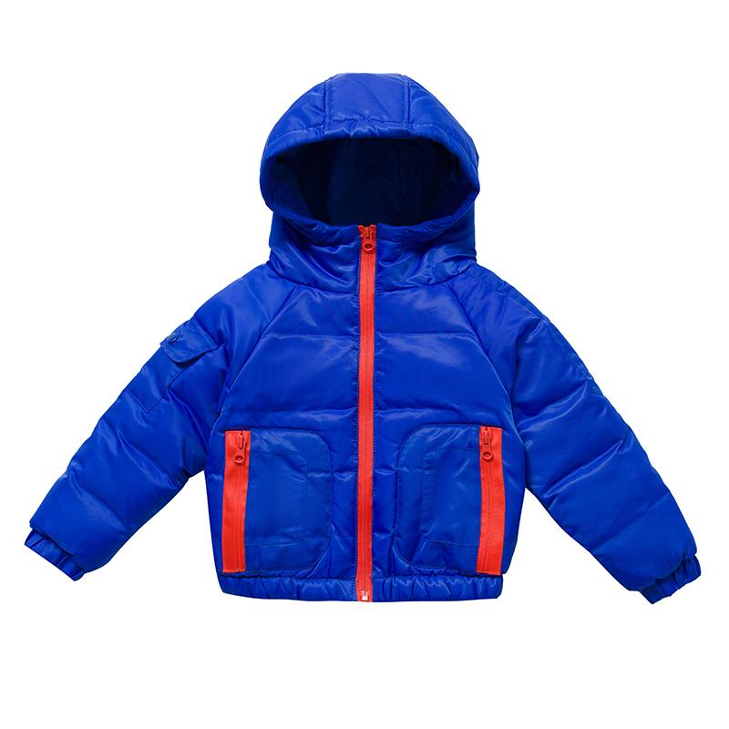 2fbf1f19e Kids Coats Casual Baby Boy Winter Jackets Zipper Hooded Girls Parka ...