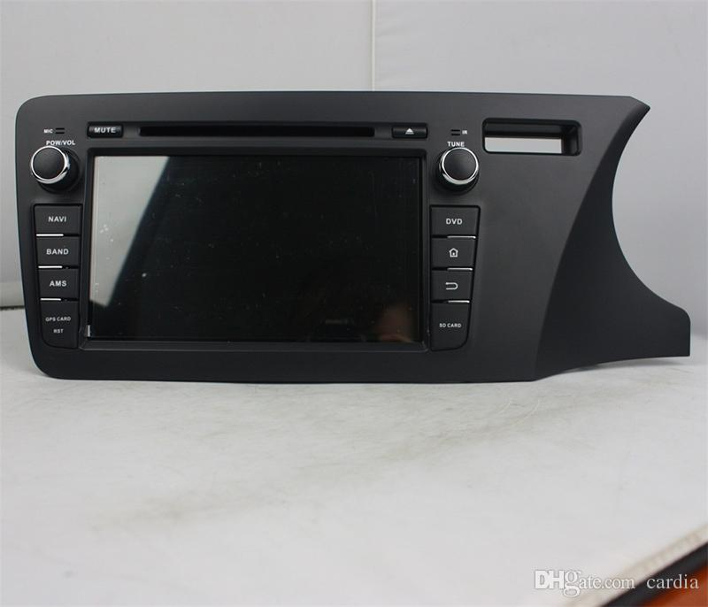Car DVD player for Honda CITY 2014 Right driving 8inch Octa-core Andriod 8.0 with 4GB RAM,GPS,Steering Wheel Control,Bluetooth,Radio