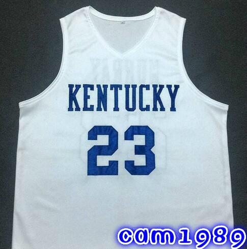 the best attitude 2a5d8 2d878 Custom JAMAL MURRAY Kentucky Wildcats White Basketball Jersey Embroidery  Stitched Customize any size and name man women youth