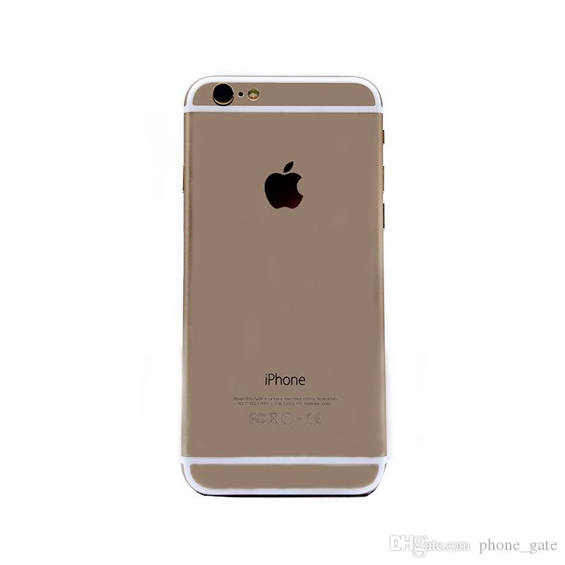 Recuperado Apple iPhone iphone6 6 6s 6plus 16 iOS System / 64GB desbloqueado iPhone i6 Celular Dual-core Com Touch ID 4G LTE Celular