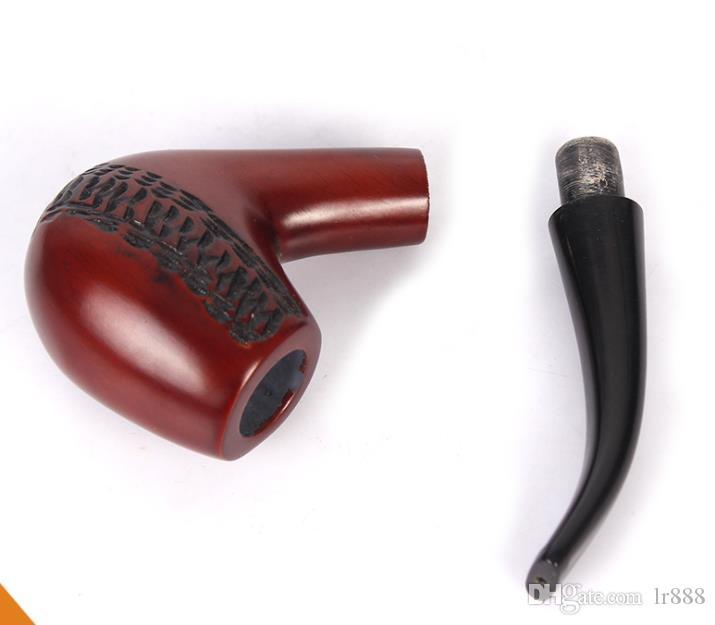 Красные штуцеры патрона фильтра трубы 9mm кабеля сандалового дерева