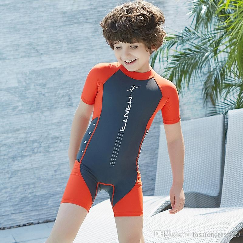 143742ec5e Kids Shorty Wetsuit Wet Suit for Girls Boys Back Zipper Watersport ...
