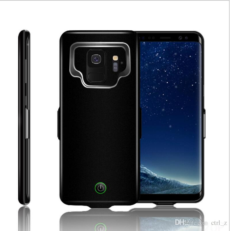 cheap for discount 6eae1 fc976 For Samsung S9 plus Battery Case 7000mAh Portable Charging Case for Galaxy  S9 Plus + Protective Ultra Slim Extended Battery