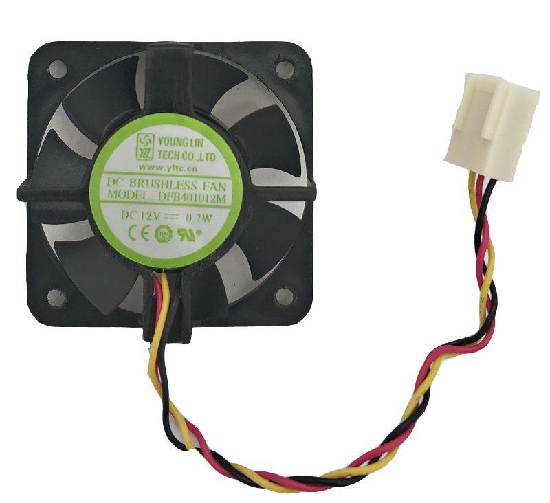 GENÇ LIN DFB401012M 40 * 10 MM 12 V 0.7 W 2wire 3wire çift bilyalı soğutma fanı