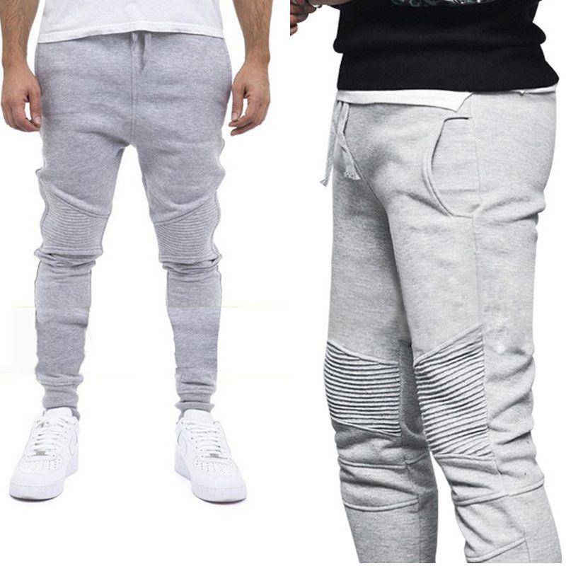 1aa953496f Pantaloni casual da uomo eleganti pantaloni da jogging slim fit da uomo  pantaloni sportivi da uomo harem sweat pant uomo sportswear
