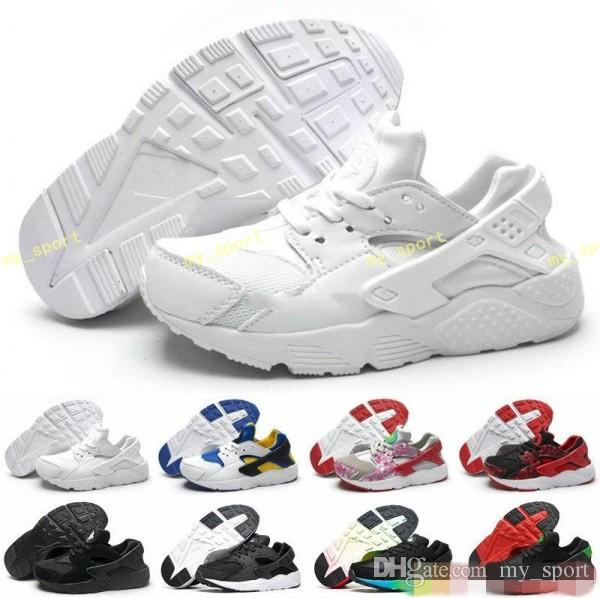 New Kid Air Huarache Sneakers Shoes For Boys Grils Children Trainers Hurache Youth Kids Huaraches Sports Running Shoes Size 28-35