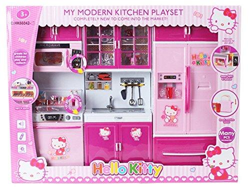 2018 My Modern Kitchen Mini Toy Playset W/ Lights And Sounds, Perfect For  11 12 Dolls From Xinmed, $23.02 | Dhgate.Com