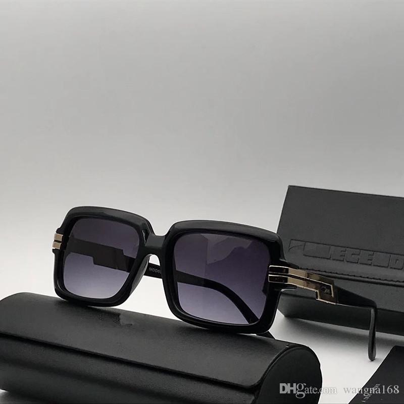 739b18b6cf5 Luxury 6008 Sunglasses For Men Brand Design MOD6008 Sunglasses Gold ...