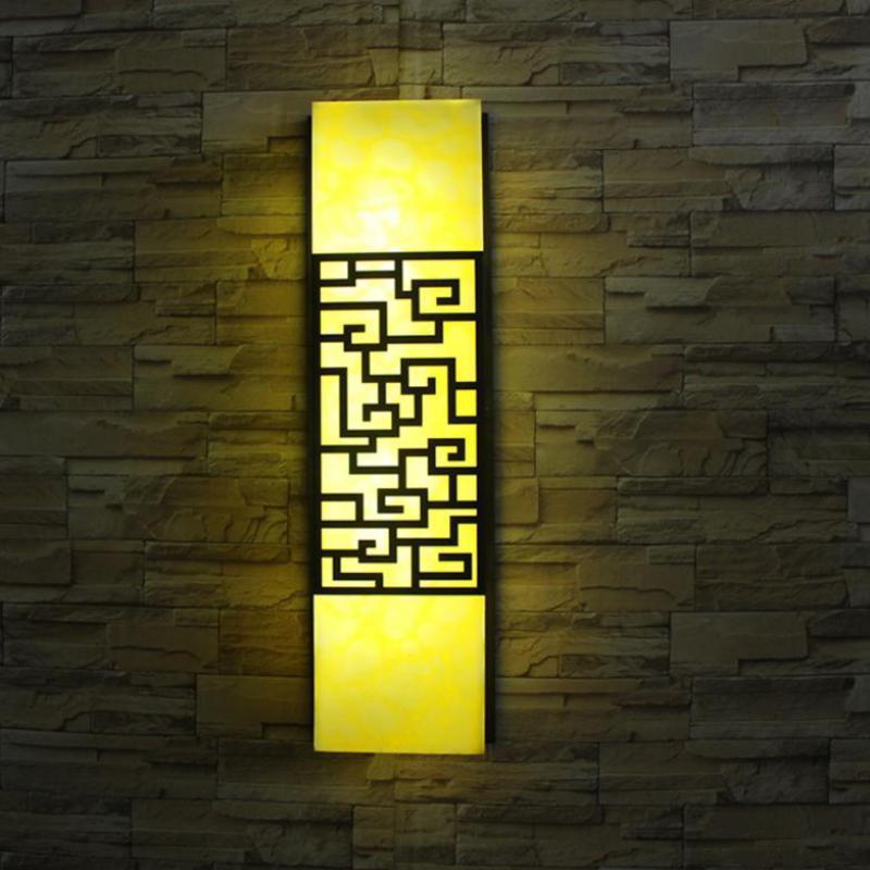 Großhandel Led Künstliche Steinwand Lampe Moderne Outdoor Garten Licht Tür  Lampe Eingang Yard Wasserdichte Wandleuchten Straßenbeleuchtung Von  Stylenew, ...