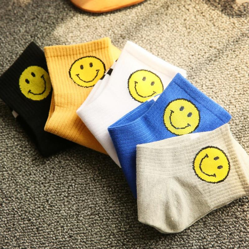 Newest 3D Fashion Print Ankle Socks Emoji Face Men Woman Unisex Cotton Ventilate Deodorize Socks Cute Funny Expression Striped Socks