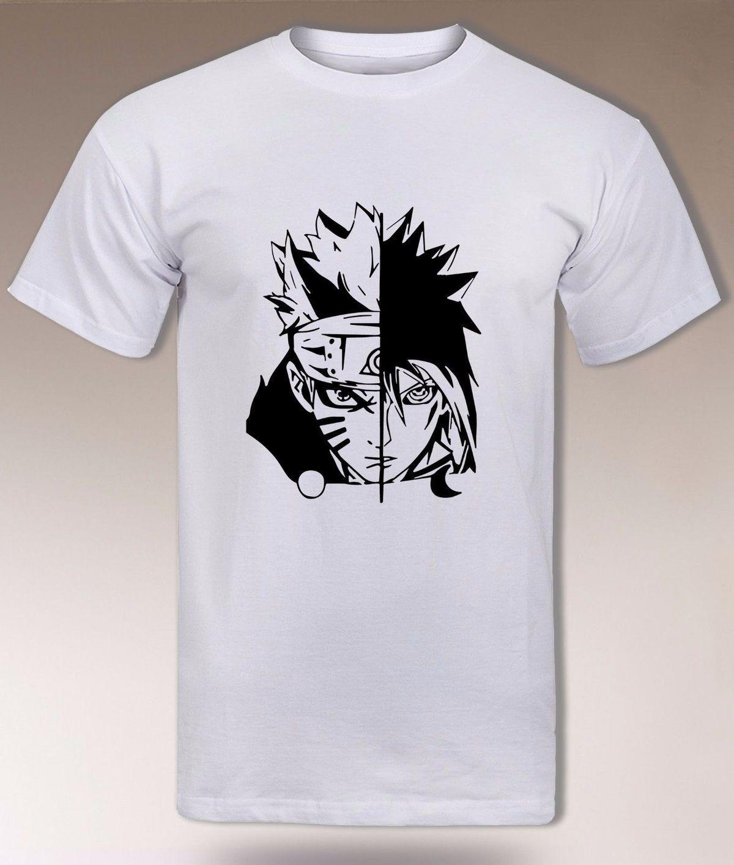 2cc17cbbc Naruto And Sasuke T Shirt, Uchiha Vs Uzumaki Clan, Hidden Leaf Konoha  Shinobi Cotton T Shirt Fashion T Shirt T Shirt Printing Shirts From  Gaobei02, ...